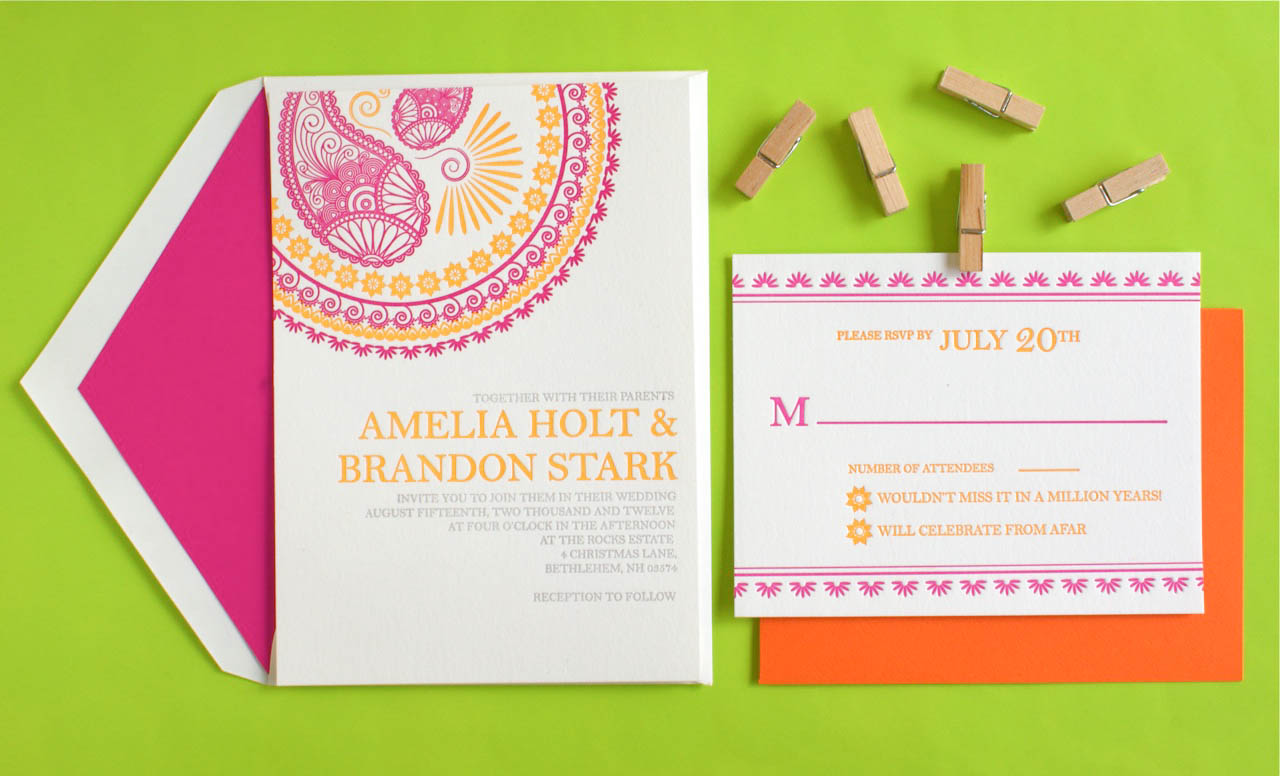 Wedding Invitation Custom Design: Destination Wedding Invitations