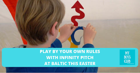 Play By Your Own Rules with Infinity Pitch at BALTIC this Easter (REVIEW)