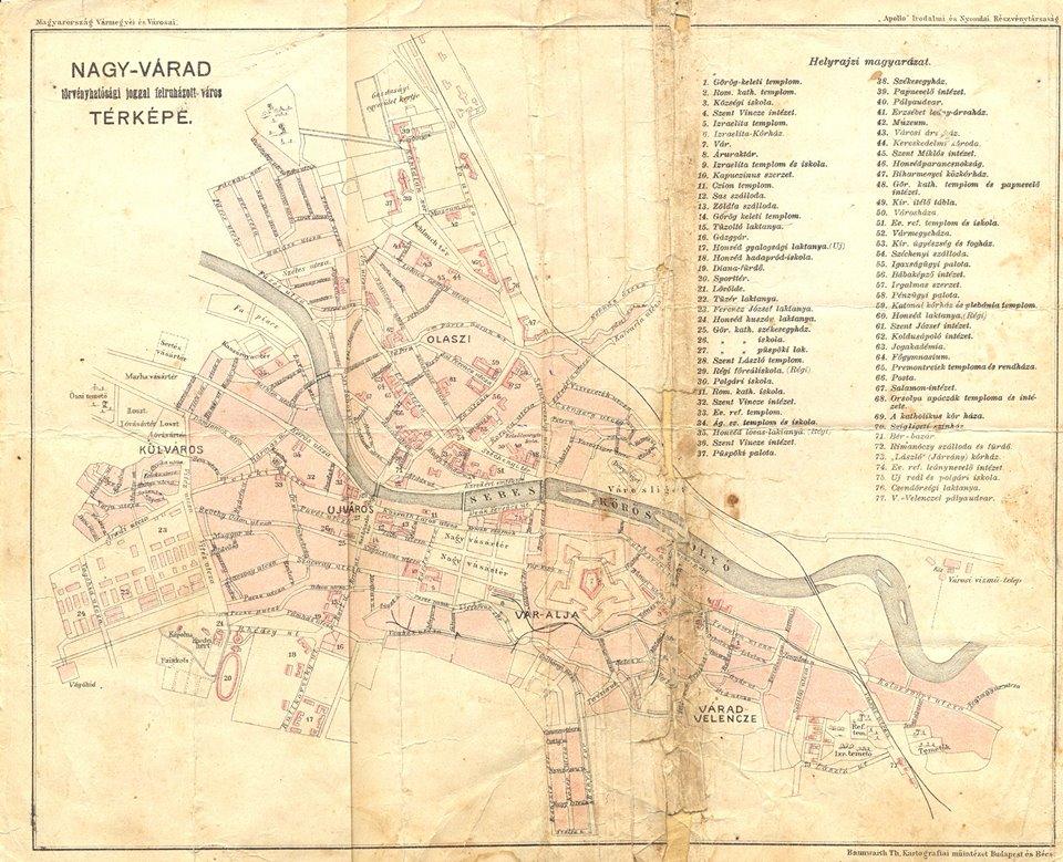 nagyvárad térkép Egyváradi Blogja Nagyváradról: Nagyvárad régi temetői nagyvárad térkép
