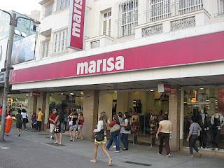 Fachada Loja Marisa