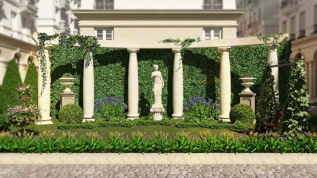 Kỳ quan nội khu Grandeur Palace 138B Giảng Võ