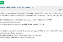 Petunjuk Sinkronisasi SIMULASI 2 Periode 2