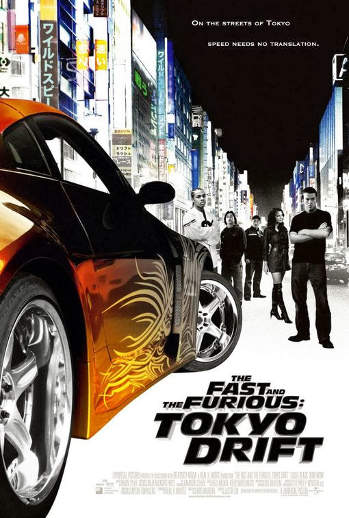 Fast and Furious Tokyo Drift movie poster