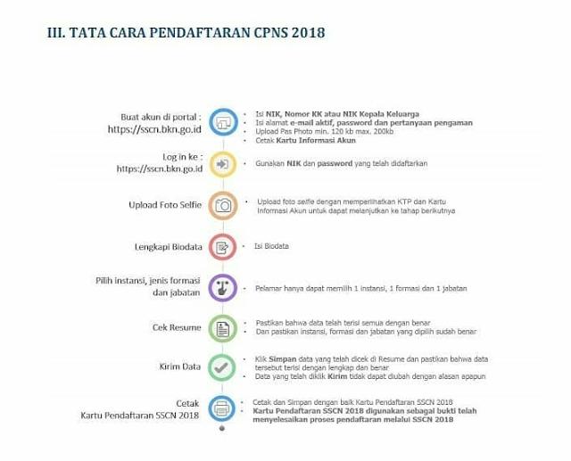 Dua hari lagi, pendaftaran Calon Pegawai Negeri Sipil 2018 akan dibuka. Berikut cara daftarnya di sscn.bkn.go.id