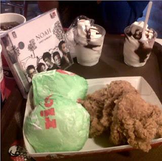 Menu Ayam Goreng KFC