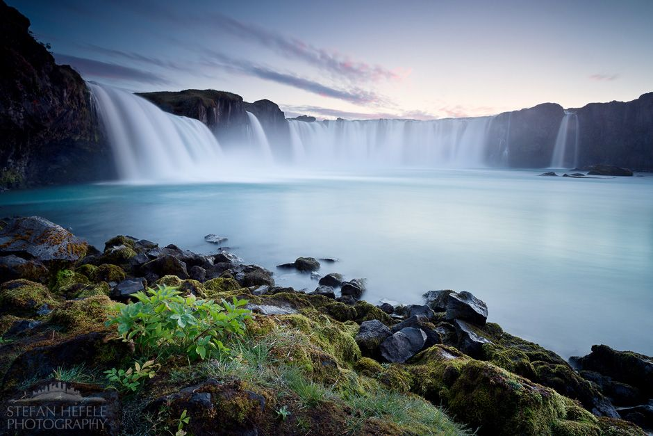 4. Waterfall of the Gods - ICELAND
