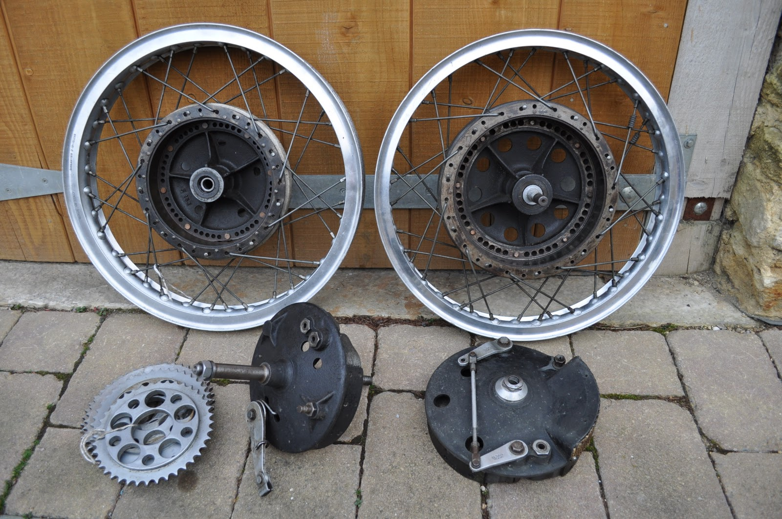 Clubman Classics Oldani wheels and brakes for sale
