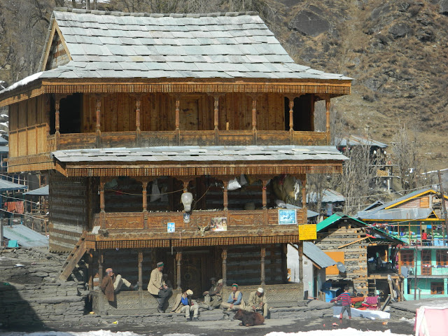 Old house in Malana