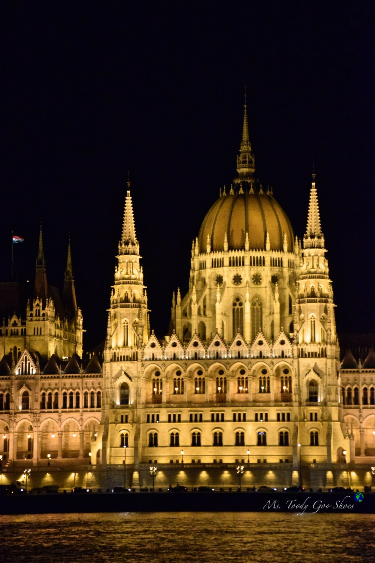 Hungarian Parliament in Budapest  | Ms. Toody Goo Shoes #budapest #danuberivercruise #hungary