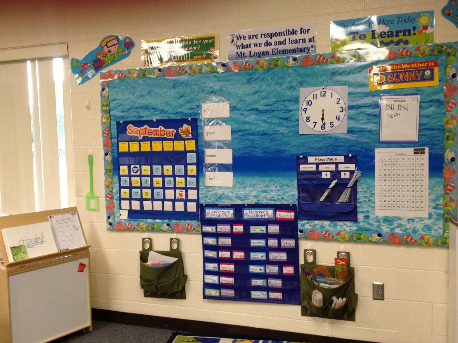 Oceans Of Kindergarten Fun Room Tour