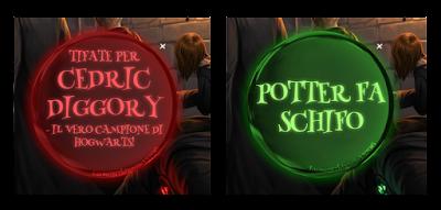 L4C18M1: la spilla con due messaggi ideata da Draco Malfoy