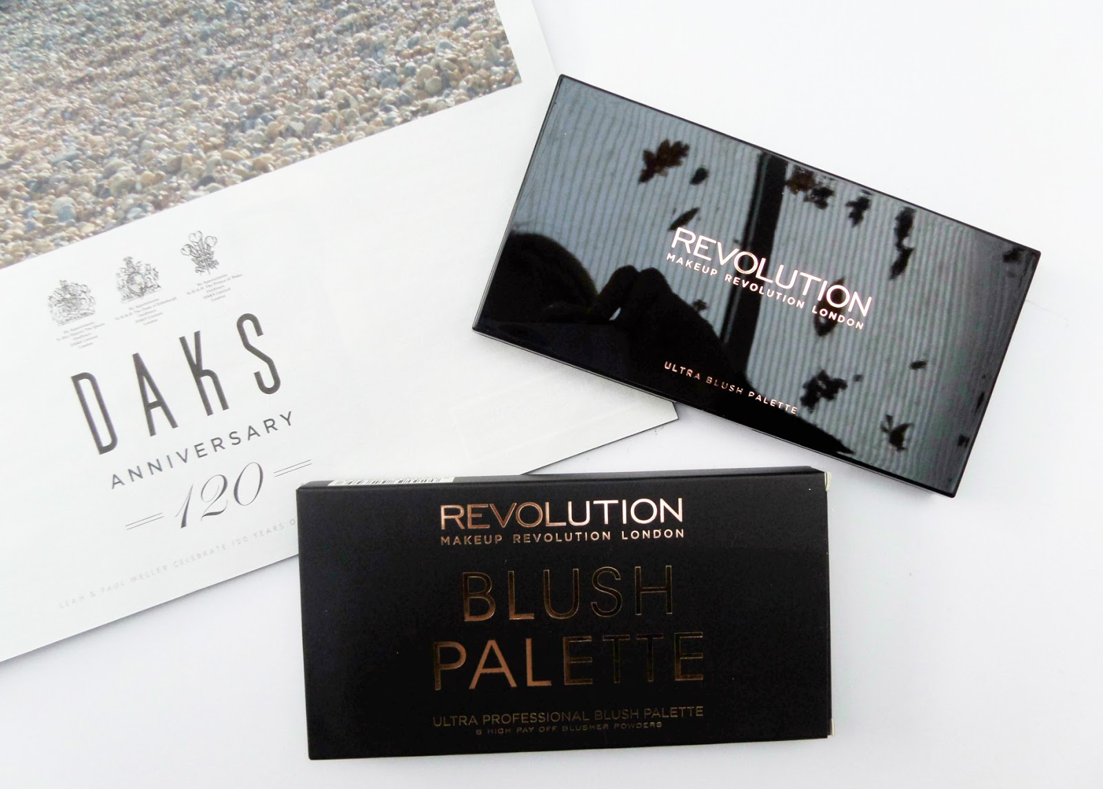 The Makeup Revolution Ultra Blush and Contour Palette in Golden Sugar