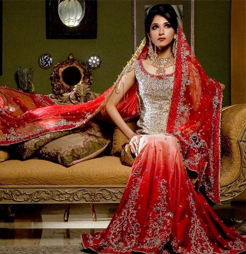 model baju pengantin india muslim