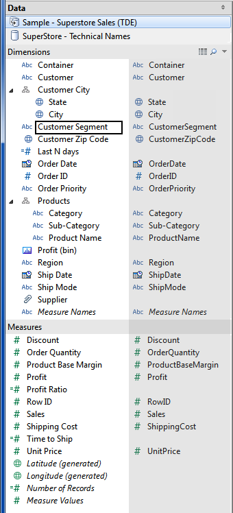Tableau Friction: Changing field names should be easier, and
