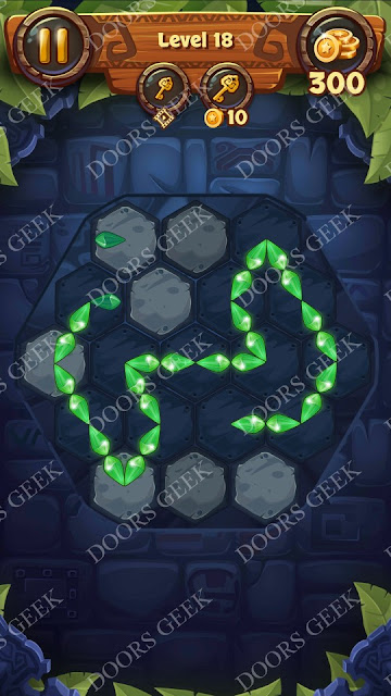 Gems & Magic [Indigo] Level 18 Solution, Walkthrough, Cheats