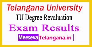 Telangana University Degree Revaluation Exam Results 2017