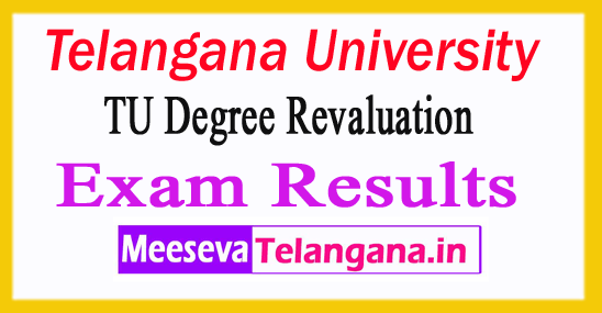 Telangana University Degree Revaluation Exam Results 2018