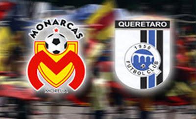 Monarcas Morelia vs Querétaro en Vivo