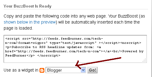 How To Add Feedburner Recent Posts Widget On Blogger