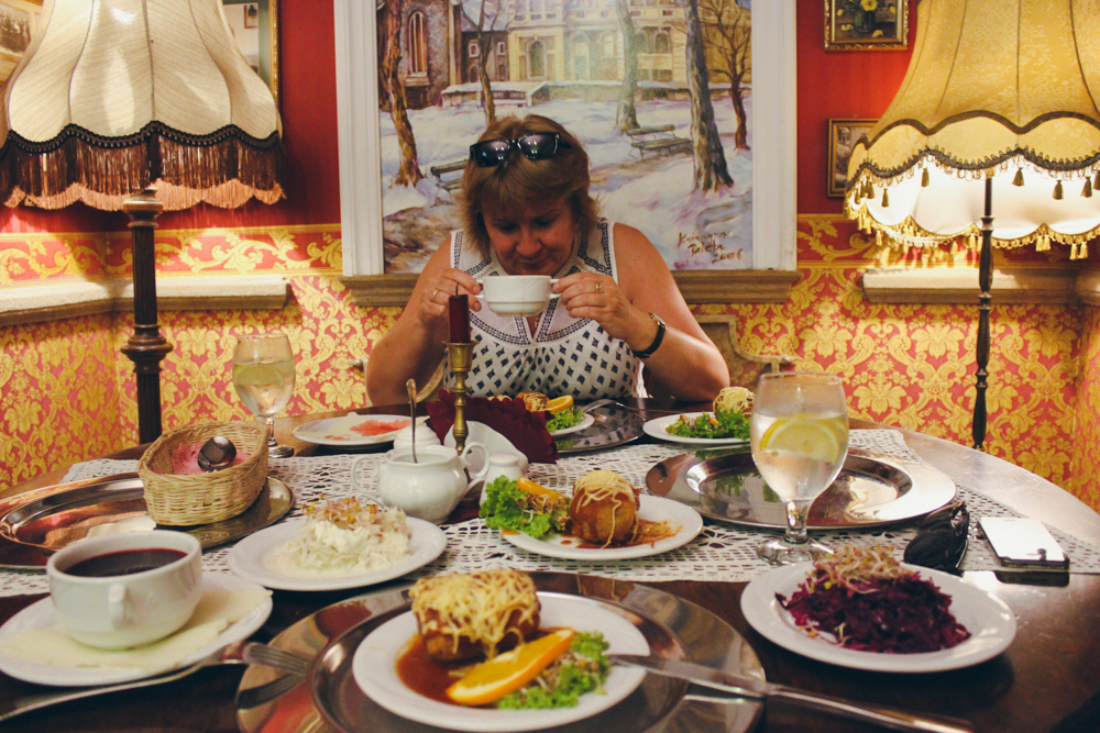 Kraków Food A Lucid Cloak