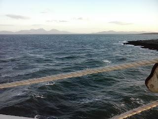 ostrov Islay, Jura a ostrov Colonsay z lode