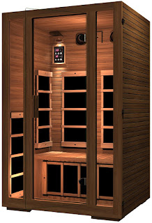 JNH Lifestyles Freedom 2-Person Far Infrared Sauna, Canadian Western Red Cedar Wood, 7 carbon fiber heaters, picture, image, review features & specifications