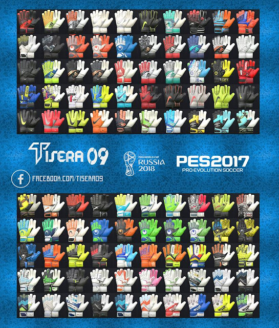 PES 2017 HD Glovepack v7 by Tisera09