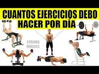 la clave para que sepas cuantos Ejercicios debes hacer por Día para Ganar Masa Muscular