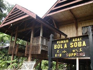 Rumah Adat Bugis Bola Soba Kabupaten Soppeng. Sejarah Asal Usul Suku Bugis (Tau Ugi).