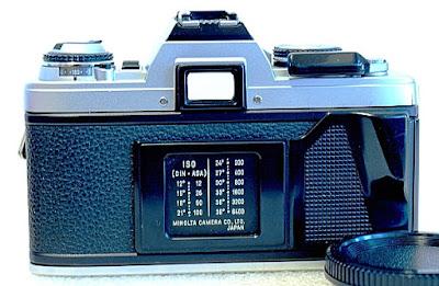 Minolta X-500, Back