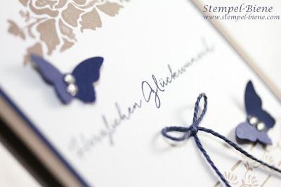 stampin up stempelparts; stampinup Florale Grüße; Anfängerkarte stampin up; karte mit handgemalten Blumenmotiven; stampinup blog