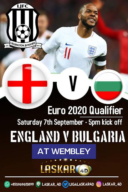 PREDIKSI PERTANDINGAN INGGRIS VS BULGARIA 07 SEPTEMBER 2019