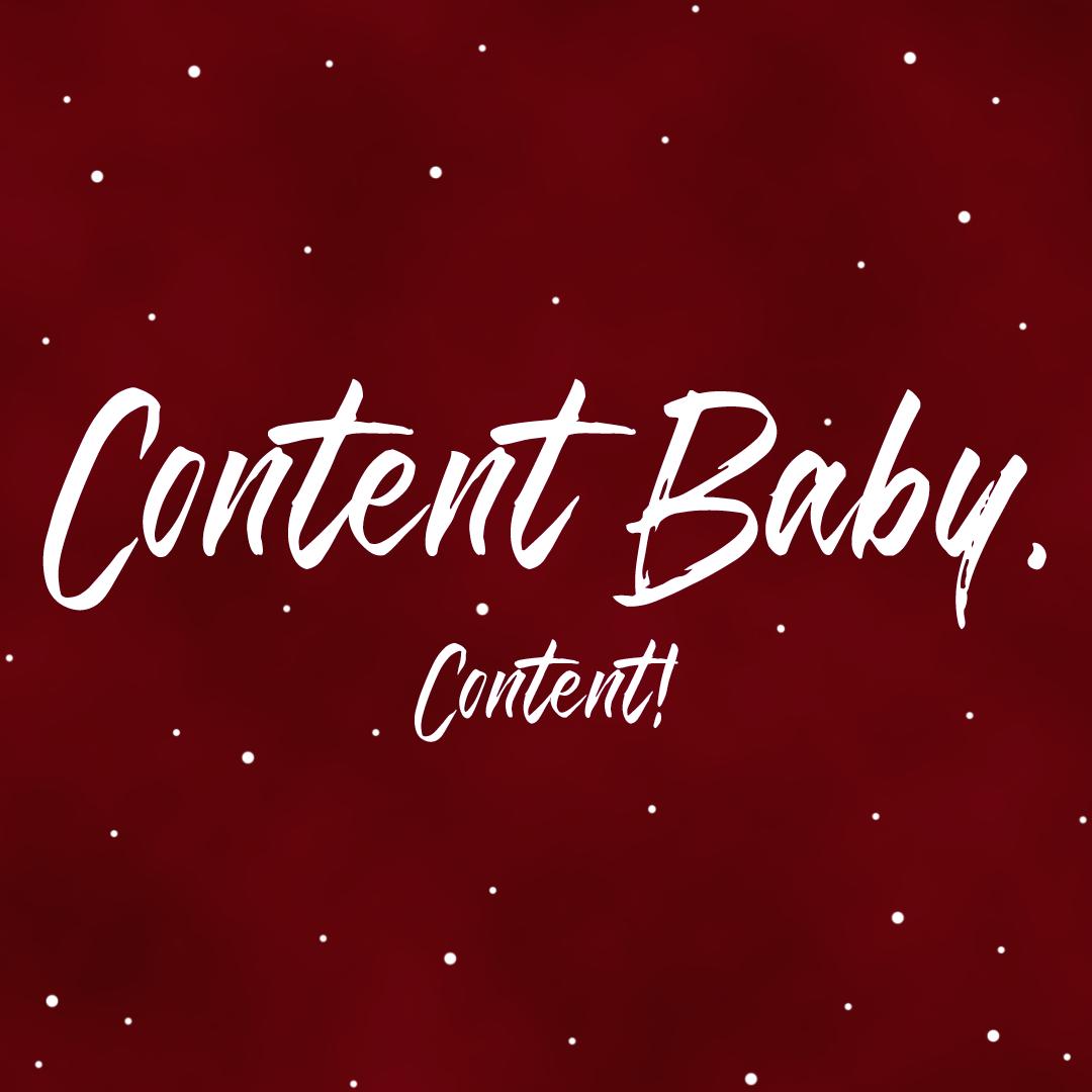 CONTENT BABY CONTENT WALLPAPERS | ANNA TWENTY SEVEN | WWW.ANNATWENTYSEVEN.COM