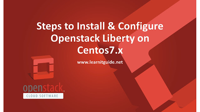 Steps to Install & Configure Openstack Liberty on Centos7.x