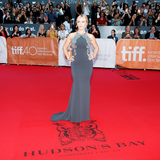 TIFF Stars On Stripes; Hudson's Bay Celebrates fashion on red carpet