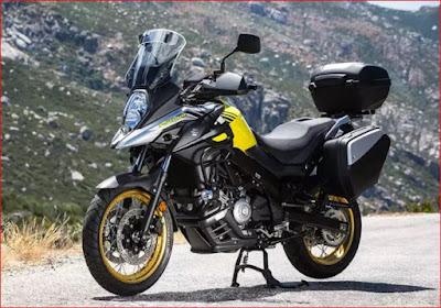 Suzuki V-Strom 650 - Motor Terbaru Dunia