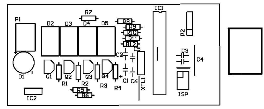 Elektronik ve İşlemciler: Atmega8 ve LM75 ile LED Ekranlı