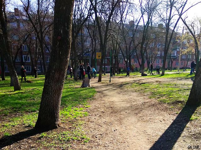 ЛНР Парк Победы