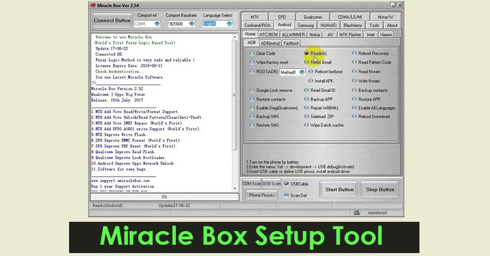 Download Miracle Box 2 58 Setup Tool without Box - Latest