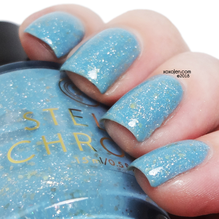 xoxoJen's swatch of Stella Chroma Queen of Thorns