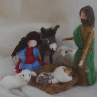 Needle Felt Nativity