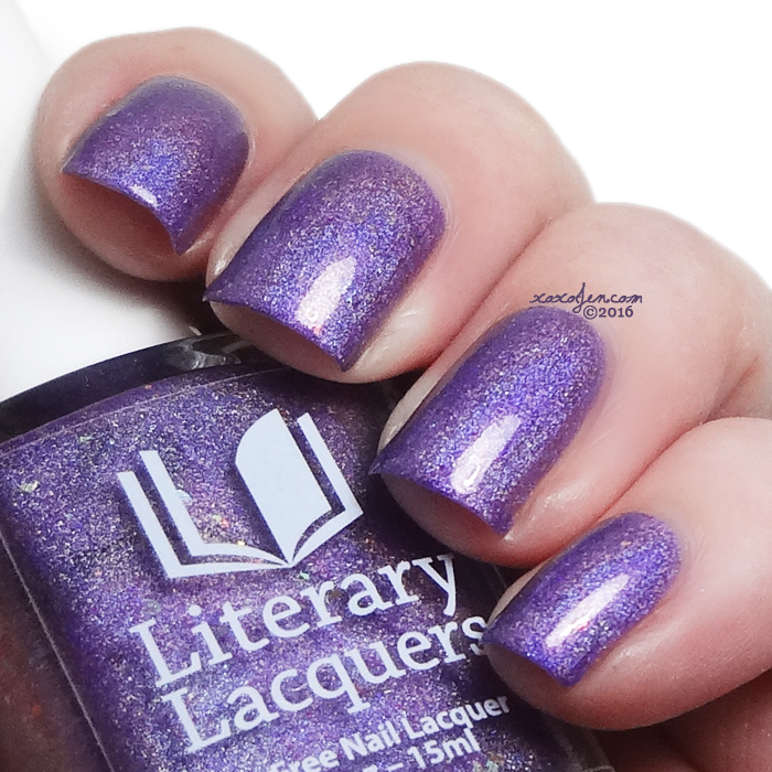 xoxoJen's swatch of Literary Lacquers Birthday LE The Edge