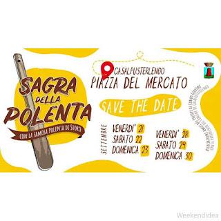 Sagra della Polenta dal 21 al 30 settembre Casalpusterlengo (LO)
