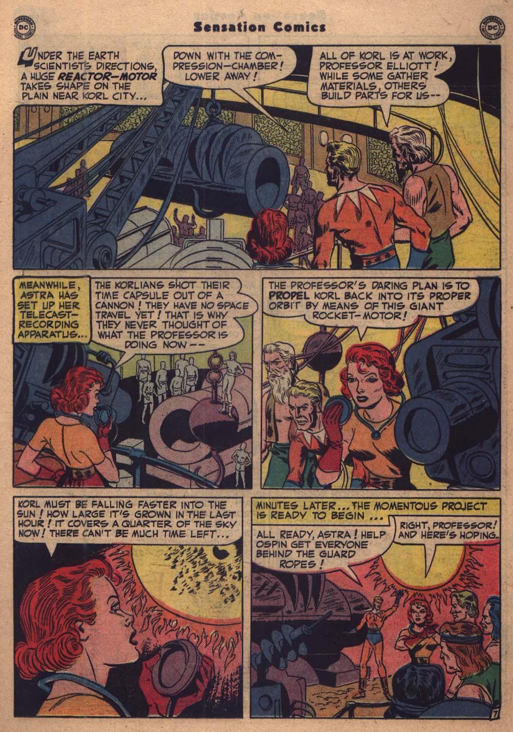 Read online Sensation (Mystery) Comics comic -  Issue #103 - 20
