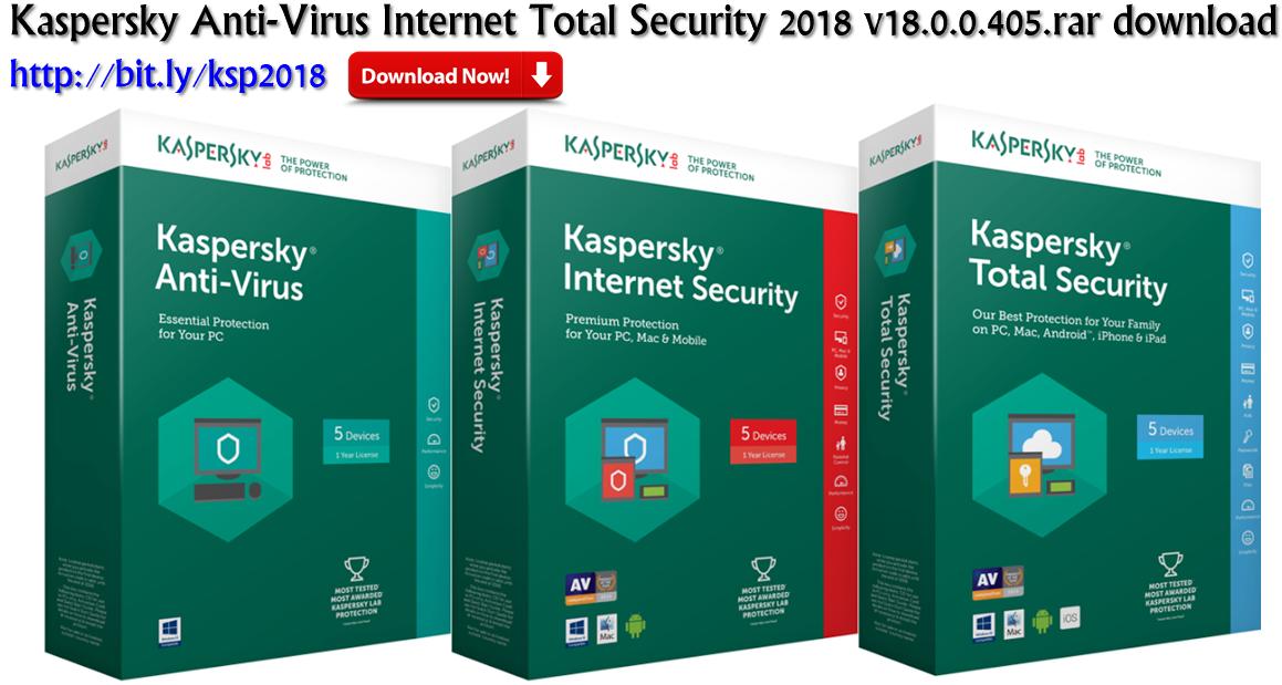 kaspersky antivirus 2018 license key crack + trial reset