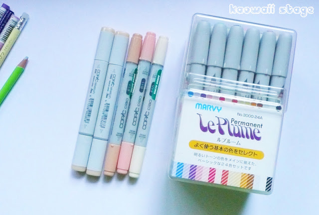 copics alcohol base rotuladores markers