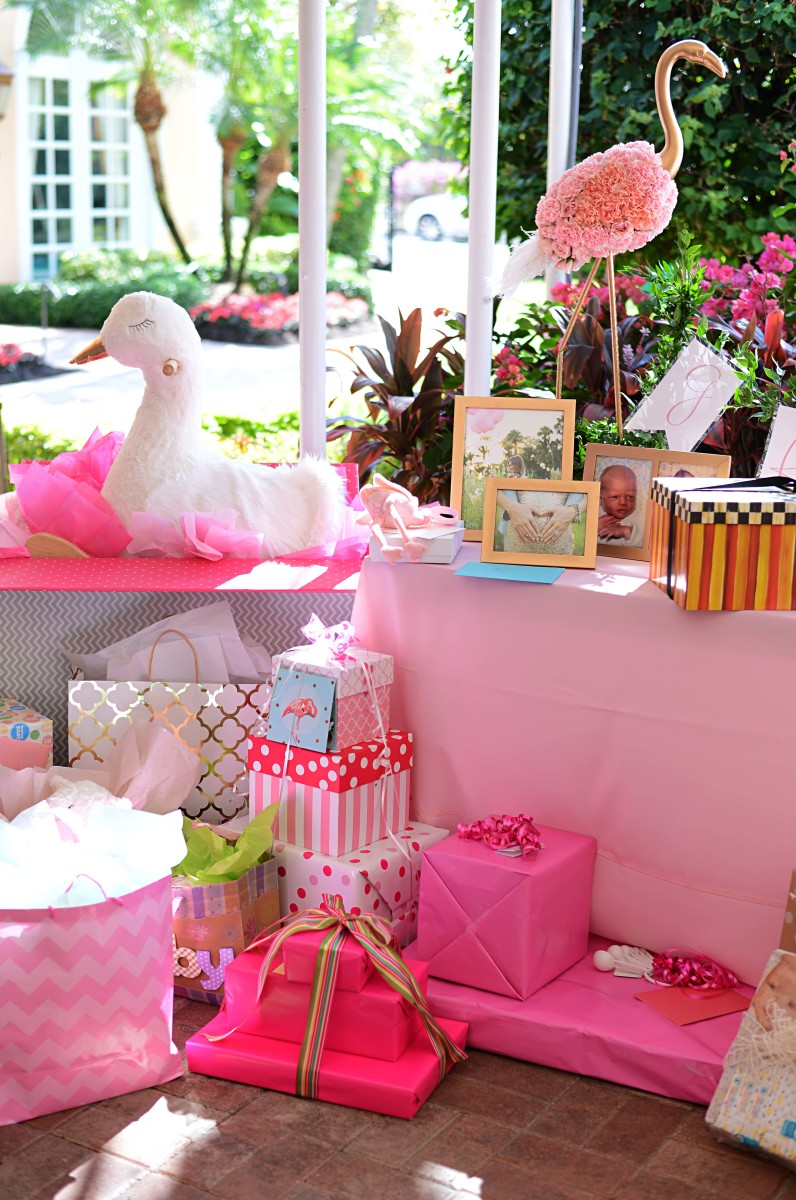 Palm Beach Lately Baby Shower - The Glam Pad