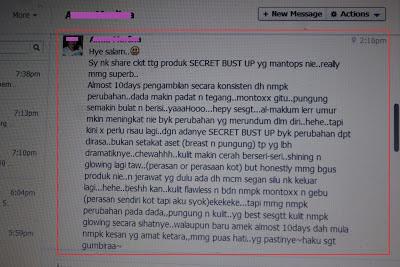 SECRET BUST UP