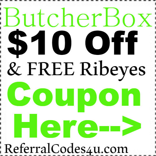 $10 off Butcher Box Discount Coupon Code 2021 January, February, March, April, May,JUne