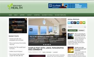 HealthCase Blogger Template